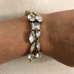 J. Crew Bracelet Glass Beads